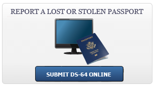 Report a Passport Lost or Stolen, Submit DS-64 Online