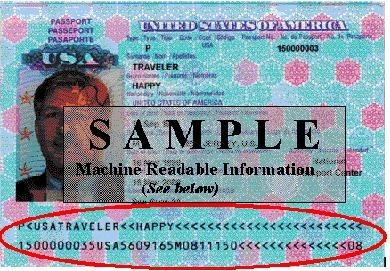 Sample Passport Image