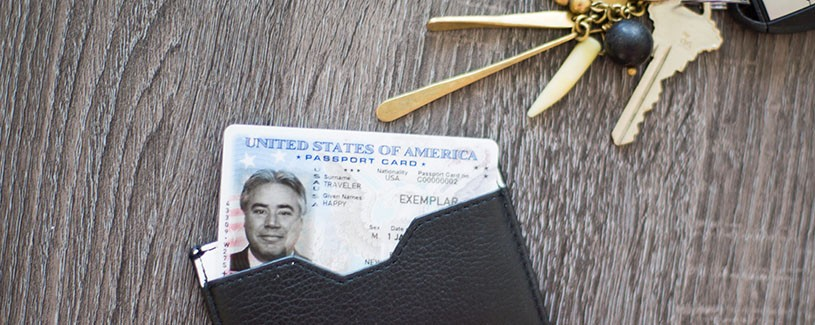 Passport Card in Wallet
